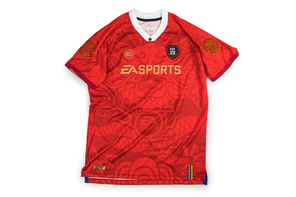 EA SPORTS FIFA 20 KOREA 'DRAGON ROBE' JERSEY
